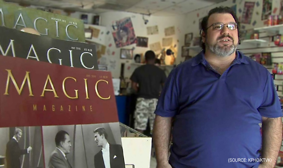 Joe Montella owns Wacky Zack's Magic in Phoenix (Source: KPHO/KTVK)