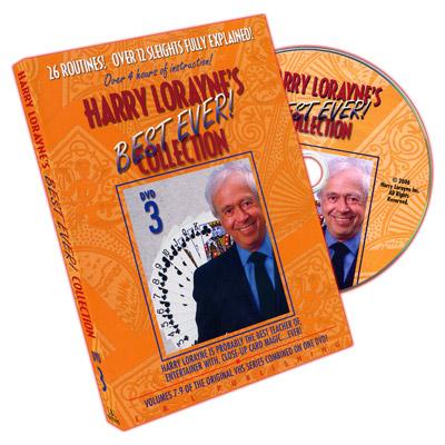 Harry Lorayne's Best Ever Collection Volume 3 by Harry Lorayne