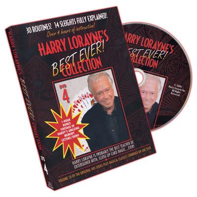 Harry Lorayne's Best Ever Collection Volume 4 by Harry Lorayne