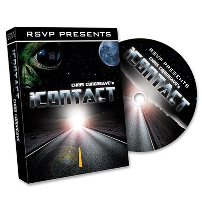 iContact (DVD and Gimmick) by Gary Jones and RSVP Magic