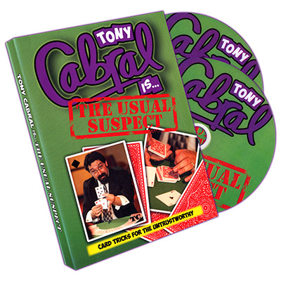 Usual Suspect (2 DVD set) by Tony Cabral