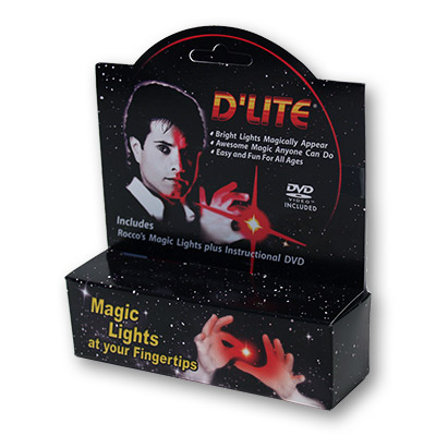 D'Lite Bonus Pack Regular Pair Ultra Bright Red with DVD