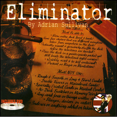 Eliminator V2.0 (with DVD) by Adrian Sullivan