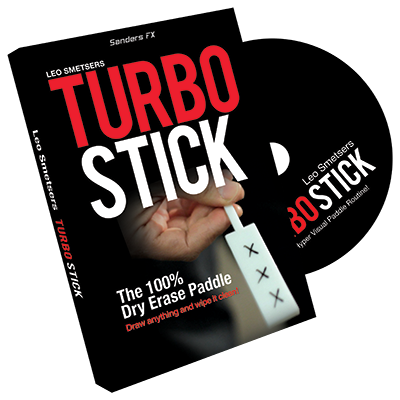 Turbo Stick (Props and DVD) by Richard Sanders